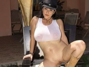 Natalie Fiore Video - Natalie Fiore in cowgirl cosplay