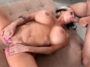 Sally D'Angelo Video + Photo - Short n Stacked Sally's First Time
